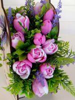 тюльпаны из мыла