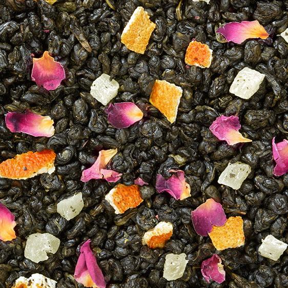 Сокровища Тамерлана - зеленый чай с натуральными добавками