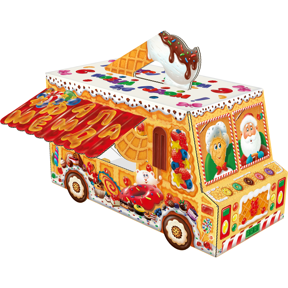 Фургончик мороженое 1500 грамм