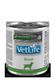 Vet Life Dog влажный корм Renal (Ренал) банка 300г.