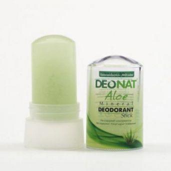 Дезодорант-кристалл с соком Алоэ DeoNat, 60 гр.