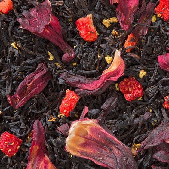 Весенняя свежесть - черный индийский чай с натуральными ароматизаторами.