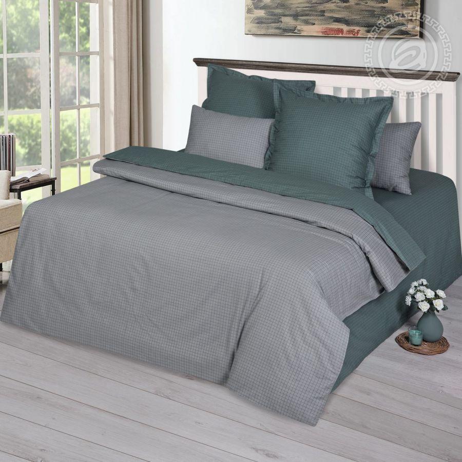 «Мартин» постельное белье Сатин 2-х спальный с евро