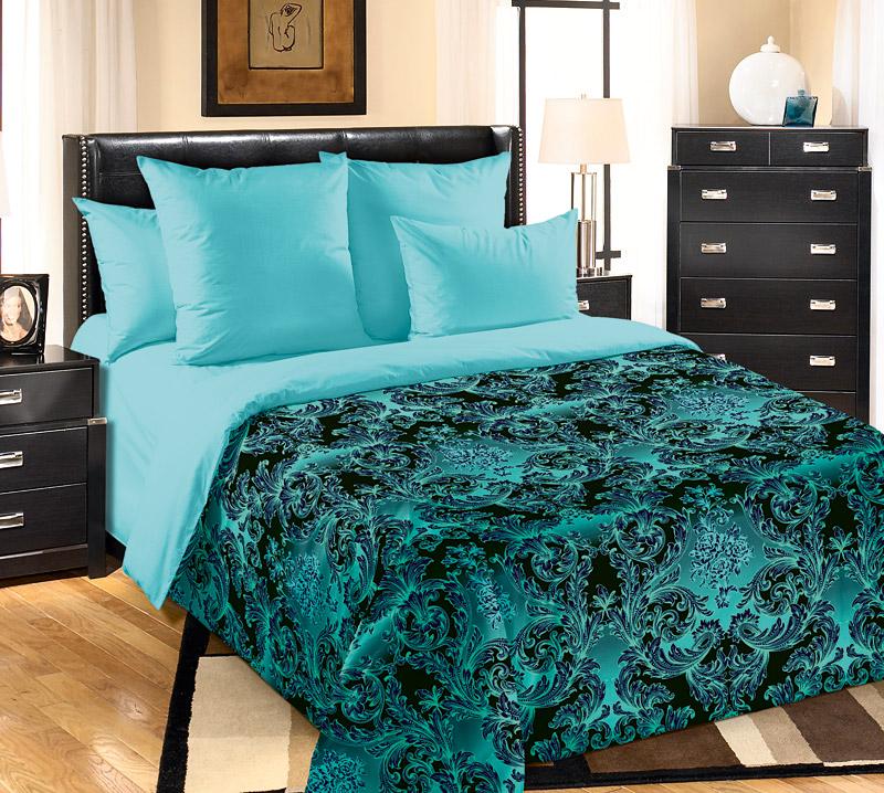 «Калипсо 2» постельное белье Бязь 2-х спальный с евро