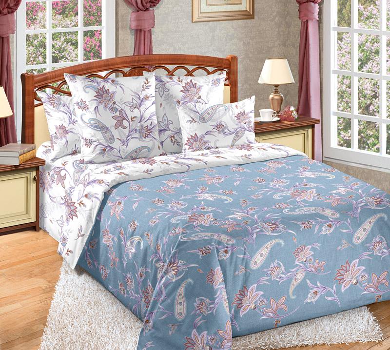 «Виавель 1» постельное белье Перкаль 2-х спальный с евро