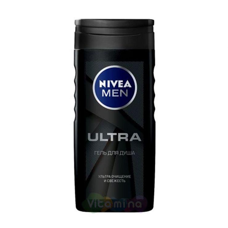 Nivea Men Ultra Гель для душа, 250 мл