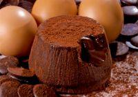 Пирожное Шоколадное суфле 100 г, Cocoa souffle' 100 g Moralberti