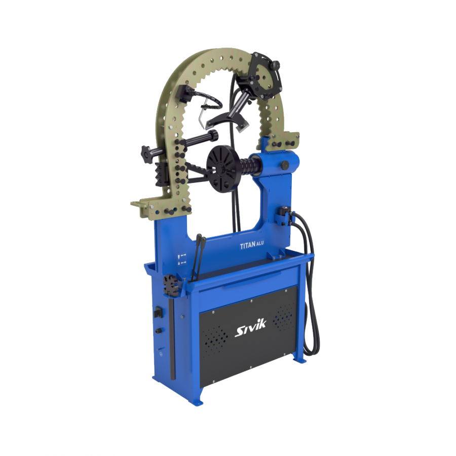 Стенд для правки автомобильных дисков Титан ALU Компакт