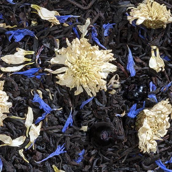 Королевский десерт  - черный чай с натуральными добавками
