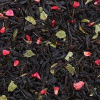 Малина со сливками - черный чай с натуральными добавками