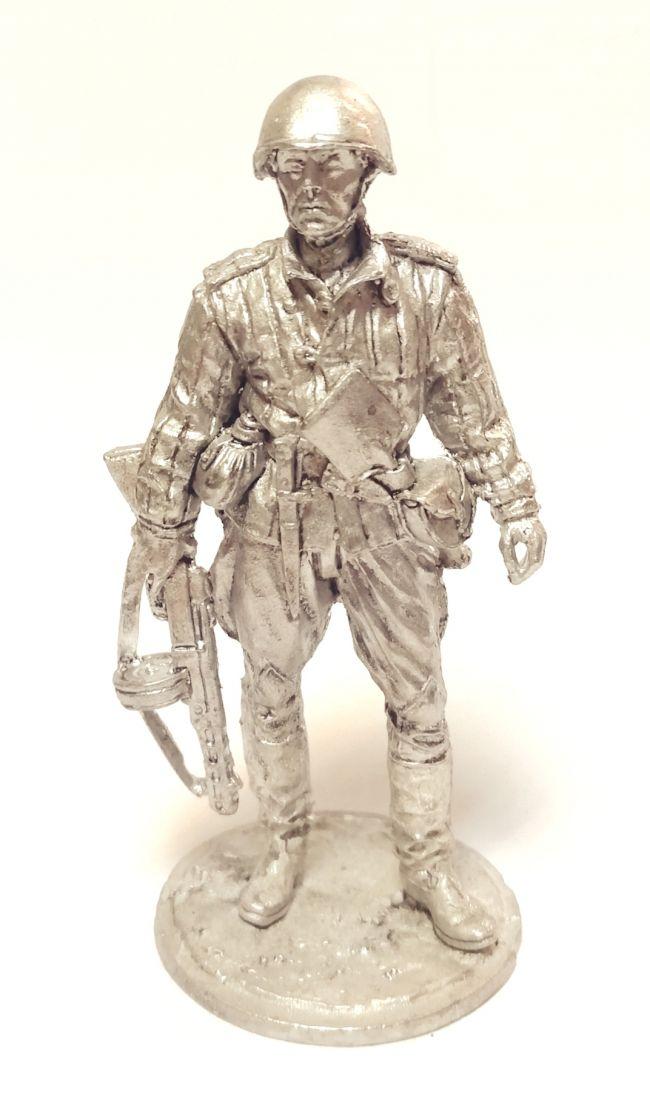 Фигурка Старший сержант пехоты Красной армии олово