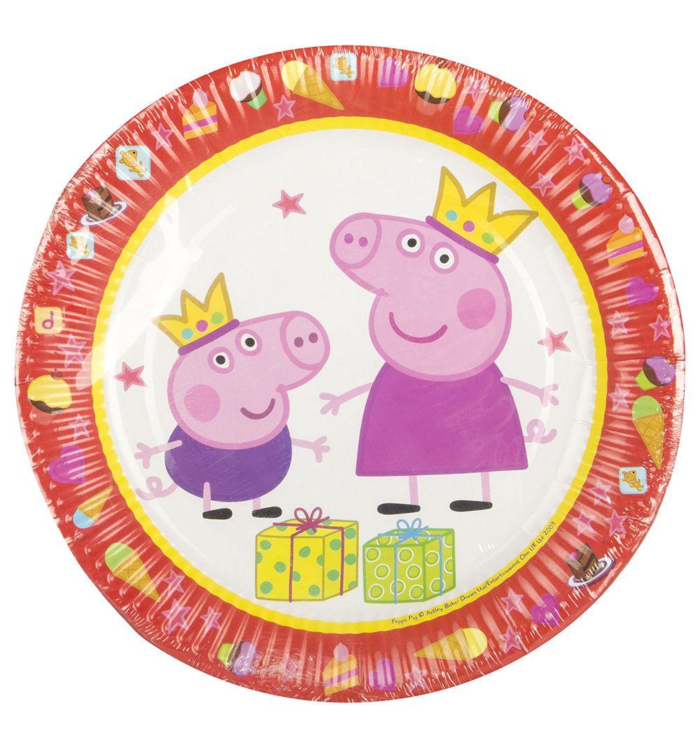 Тарелки Свинка Пеппа