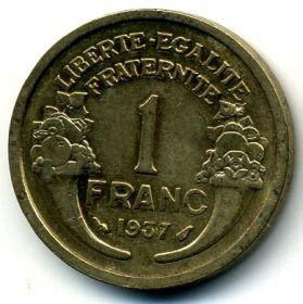 Франция 1 франк 1921