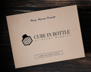 Cube In Bottle by Henry Harrius TV Rights Reserved