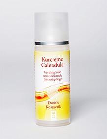 Защитный крем с календулой для лица. Успокаивающая и укрепляющая интенсивная защита кожи. 50 мл. DORITH KOSMETIK натуральная косметика из Германии.