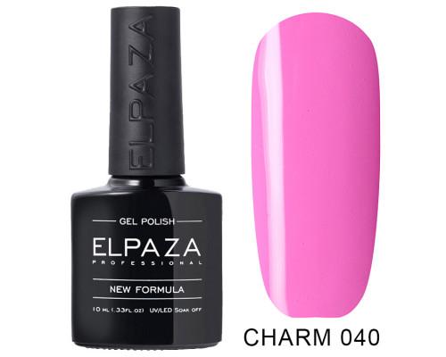 ELPAZA ГЕЛЬ-ЛАК  Charm 040   Хрупкое сердце (Розовый)   10 мл