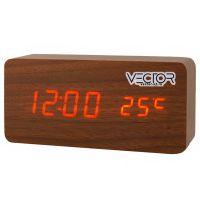 VST862-1 крас.цифры (темно-коричневый)-40/80+USB кабель (без адаптера)