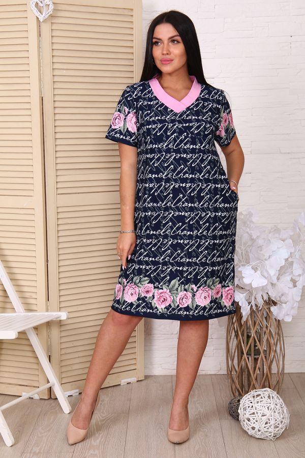 Платье 38502 [розы]
