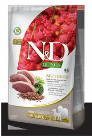 N&D Dog Quinoa Duck Neutered Adult (Утка+киноа,брокколи и спаржа для стерилизованных собак)