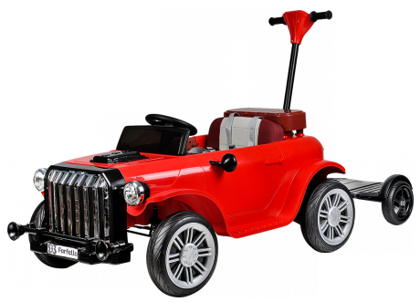 Ретро электромобиль (2021) DLS202 (12V) красный