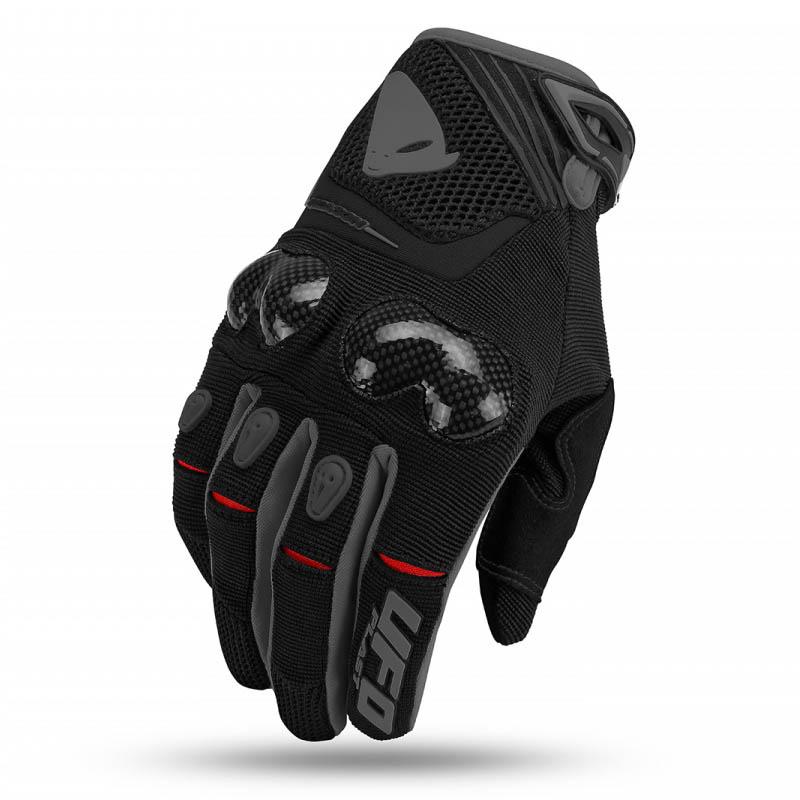 UFO Reason Glove Black перчатки для мотокросса, черные