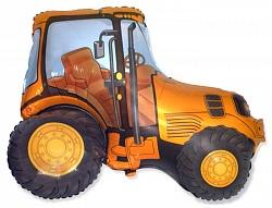 """Трактор, Оранжевый, 1 шт., 14""""/ 36 см"""
