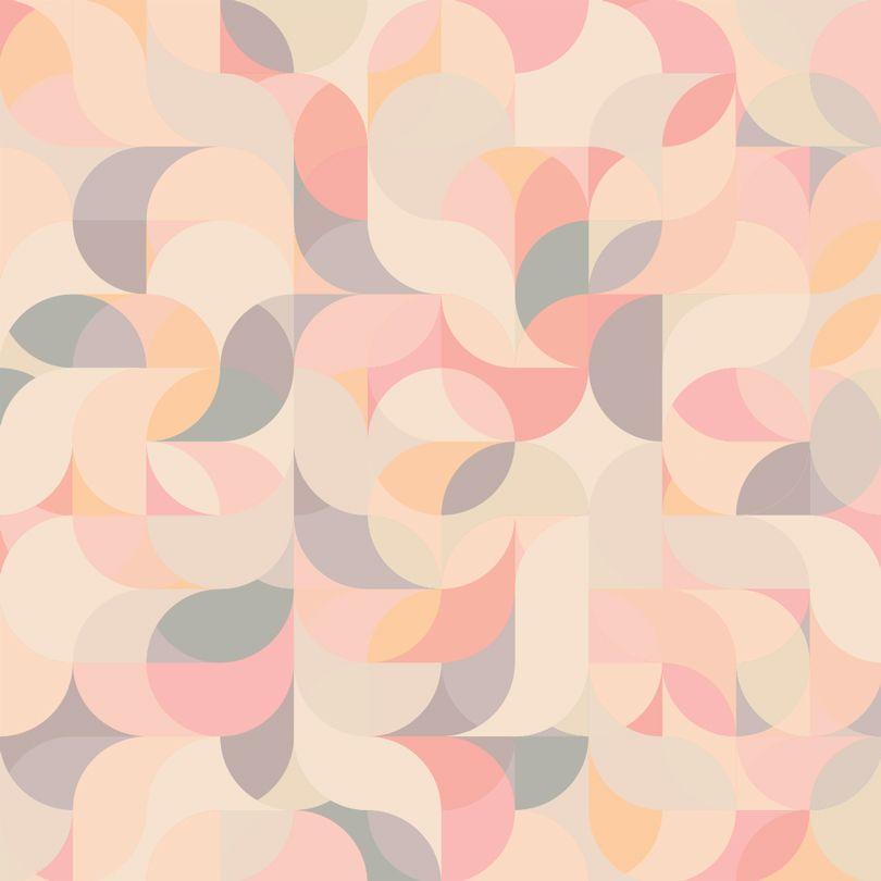 Geometric wave, bubble gum