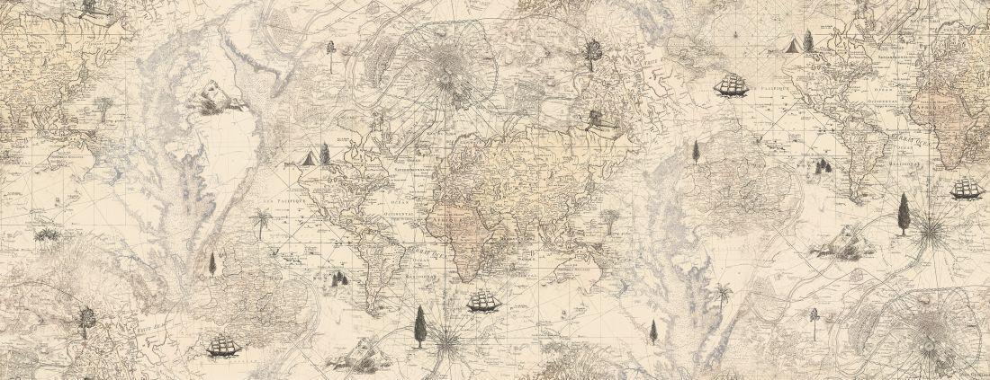 Treasure map, Old