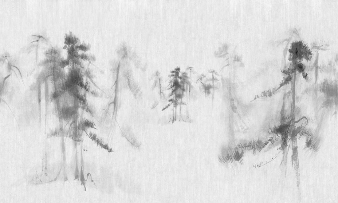 Chinese pine trees