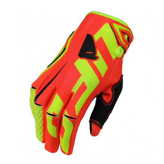 UFO Blaze Glove Red перчатки для мотокросса, красные