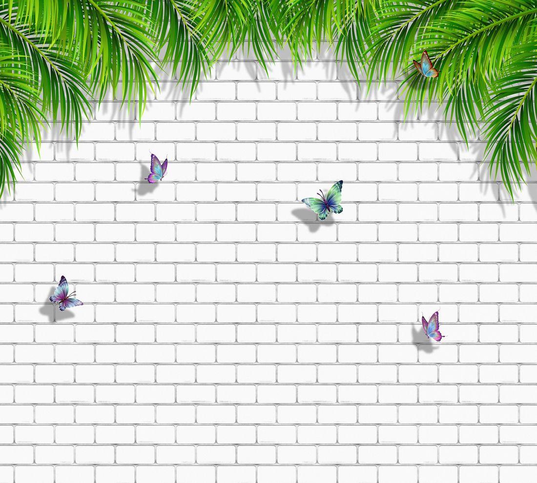 Бабочки на стене 80011-М