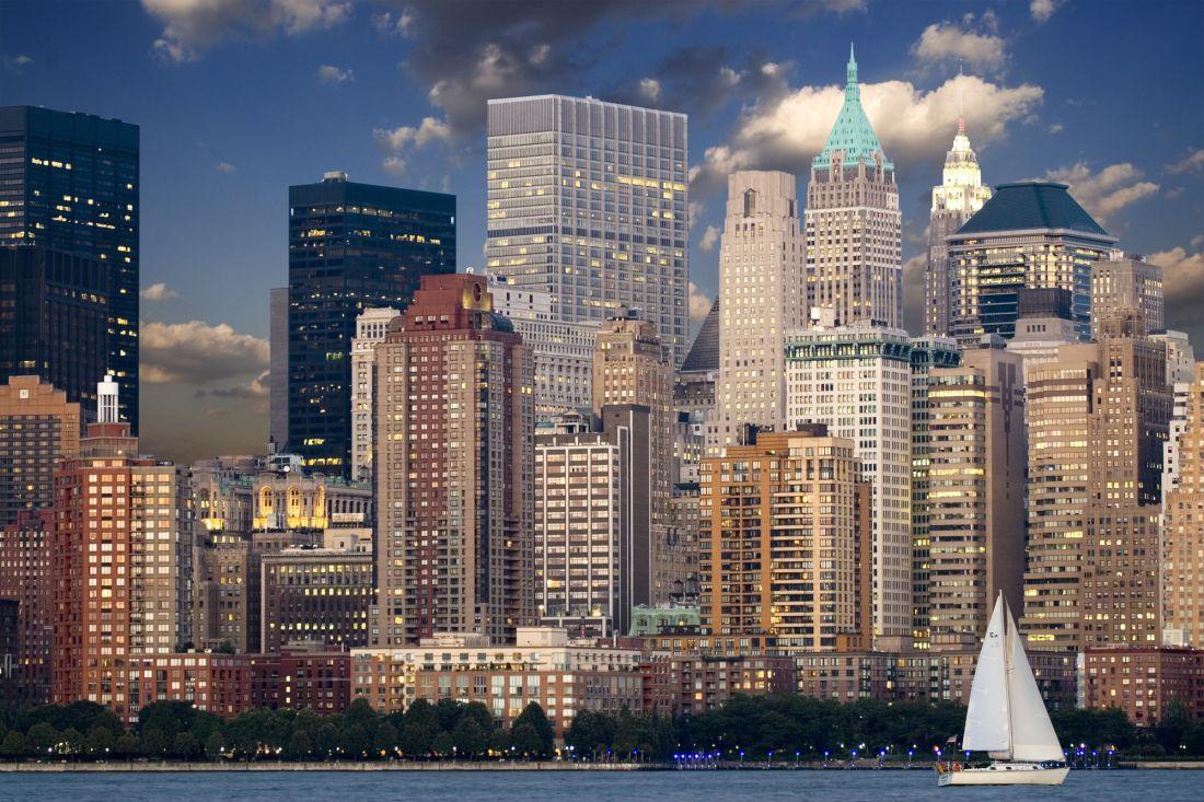 Нью-Йорк Манхэттен 2-059