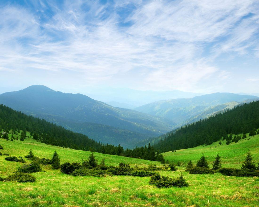 Зелёные горы 1024