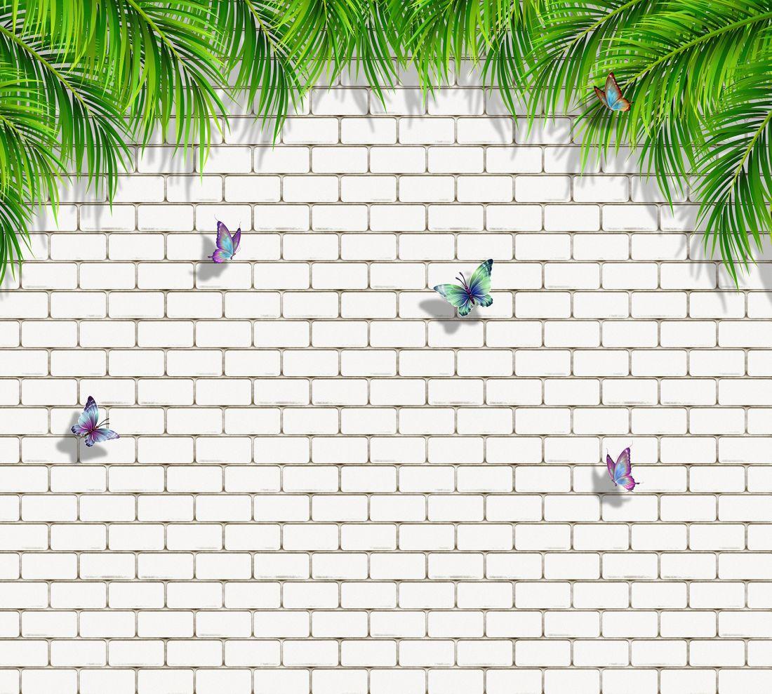 Бабочки на стене 8-001kd col 2