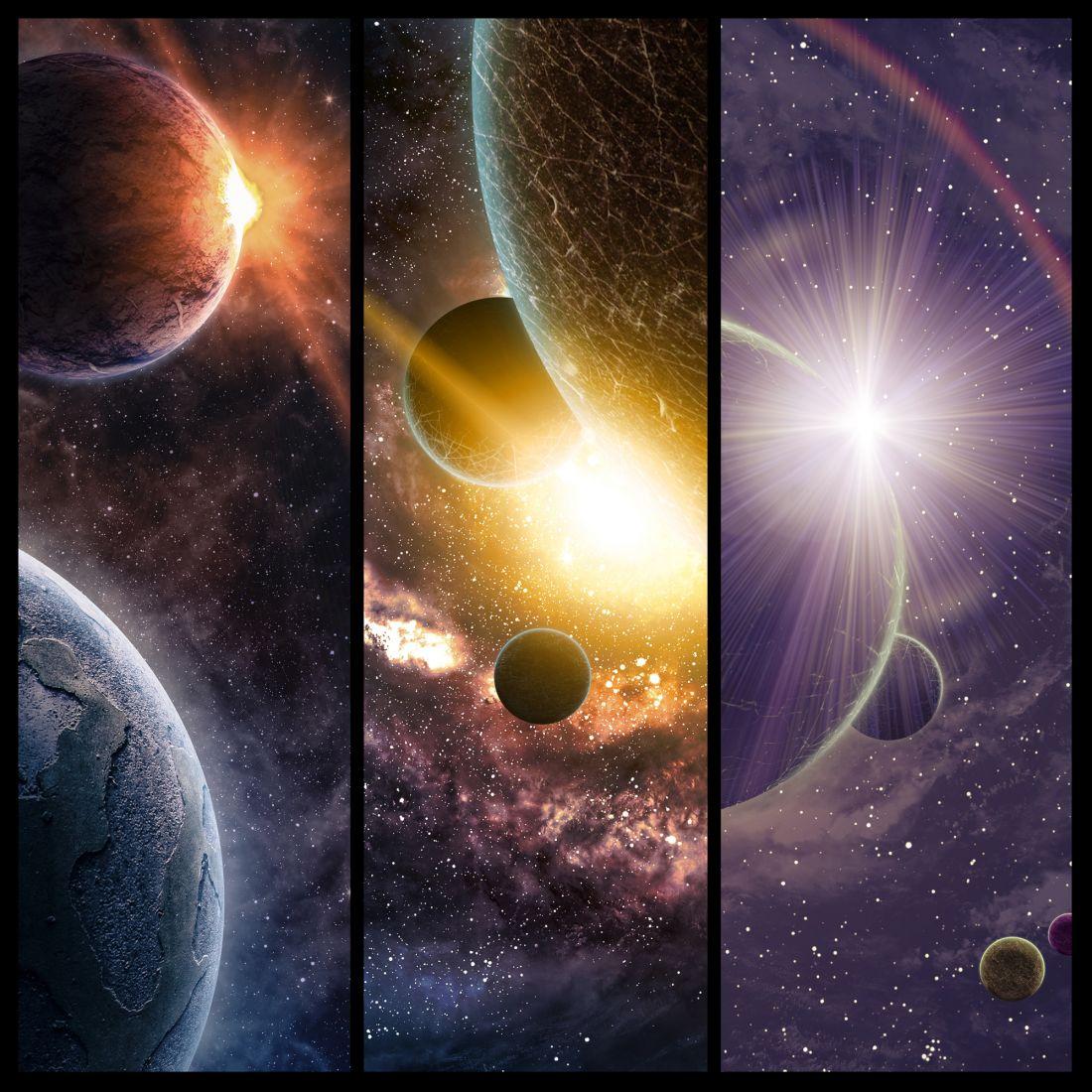 Космический коллаж 25-025