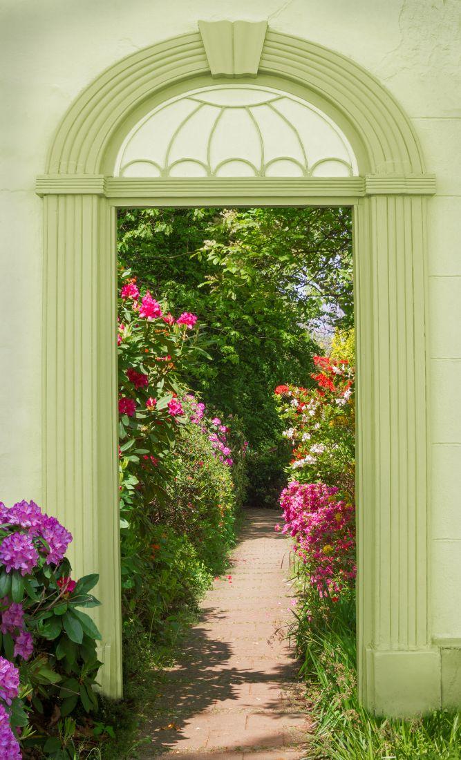 Арка в сад 14-39