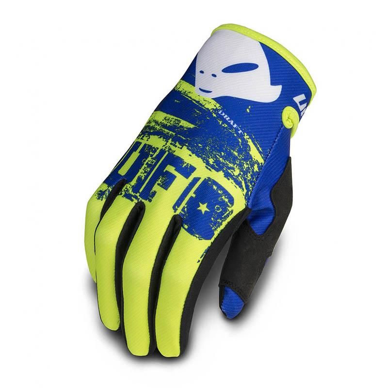 UFO Draft Glove Yellow Fluo перчатки для мотокросса, желтые