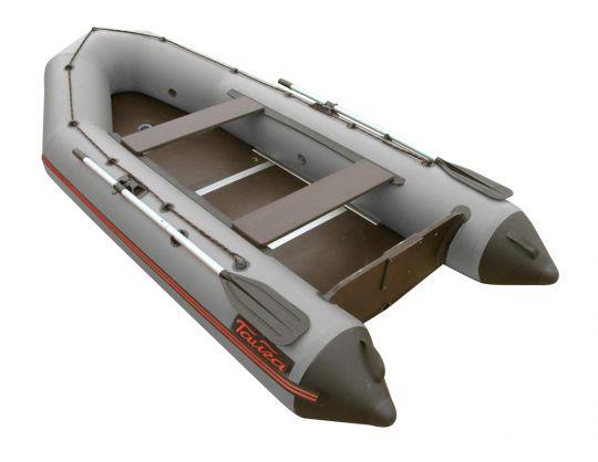 Лодка ПВХ Тайга 320 килевая С-Пб серая
