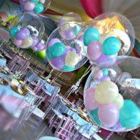 Шар Баблс «Погремушка» Qualatex bubbles (Япония)