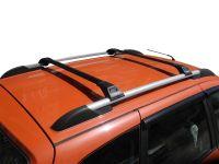 Багажник Turtle Tourmaline V1 черный на рейлинги, производство Turtle (Турция)