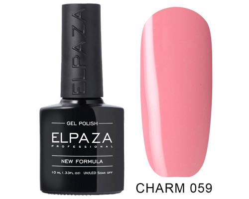 ELPAZA ГЕЛЬ-ЛАК  Charm 059  Бизнес леди (Розовый)  10 мл