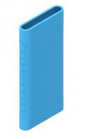 Защитный кейс для  Xiaomi Power Bank 2i/3  10000 mAh ( Силикон / Голубой)