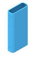 Защитный кейс для  Xiaomi Power Bank 3/3 Pro на 20000 mAh ( Силикон / Голубой)