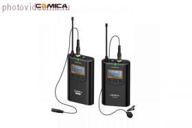 COMICA CVM-WM100 Plus (приёмник + передатчик) Беспроводной петличный микрофон