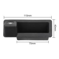 Камера заднего вида BMW X5 в ручку багажника