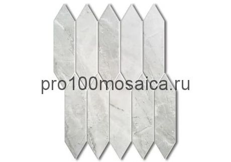 ROYAL GREY Мозаика  серия PORCELAIN, размер, мм: 257.5*313*6 (ORRO Mosaic)