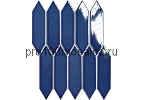 ROYAL BLUE Мозаика  серия PORCELAIN, размер, мм: 257.5*313*6 (ORRO Mosaic)