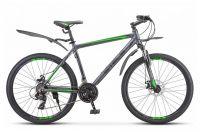 """Горный (MTB) велосипед STELS Navigator 620 MD 26 V010 17"""" Антрацитовый (LU084775 LU088804)"""