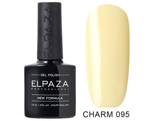 ELPAZA ГЕЛЬ-ЛАК  Charm 095  Лимонный пирог (Светло-желтый)  10 мл