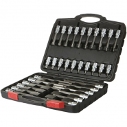 AV-921067 Набор головок со вставками TORX T20-T70, L=55-200мм, 32 предмета AV Steel